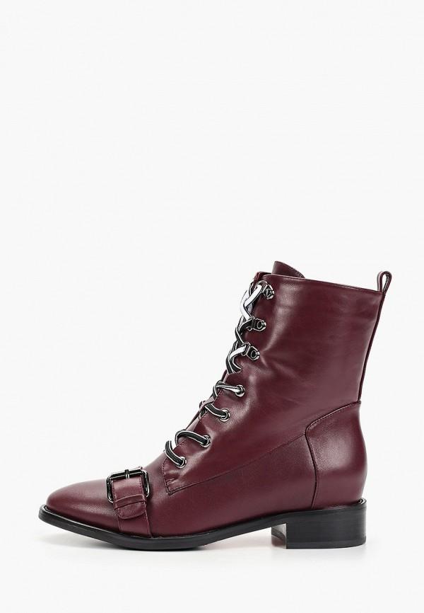 женские ботинки laura valorosa, бордовые