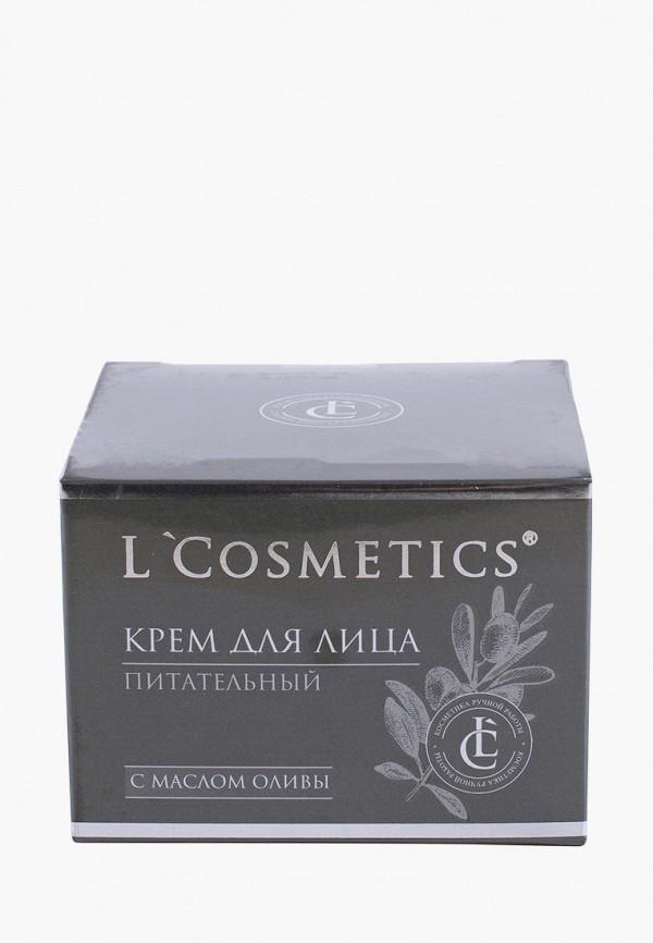 Купить Крем для лица L'Cosmetics, «Питательный» с маслом оливы, 50 мл, lc002lwbixn7, прозрачный, Весна-лето 2019