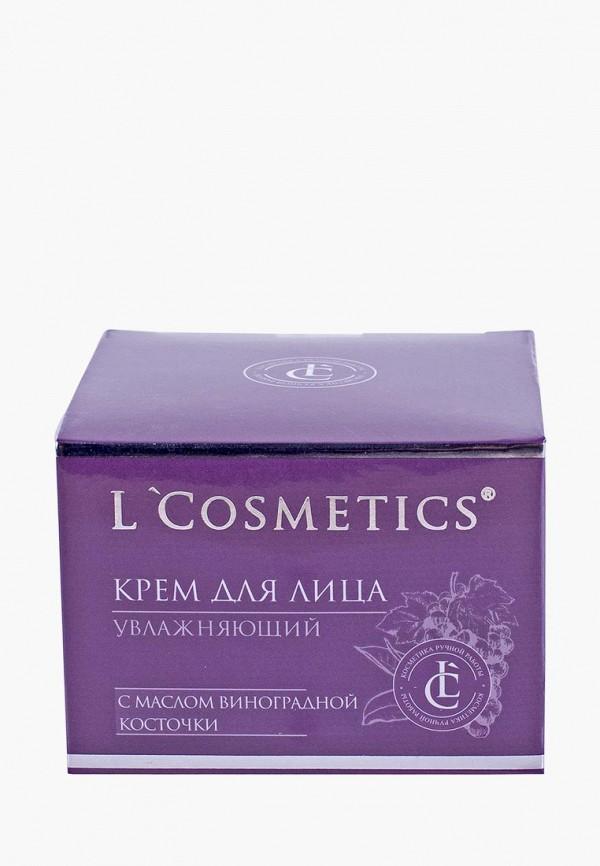 Купить Крем для лица L'Cosmetics, «Увлажняющий» с маслом виноградной косточки и экстрактом зеленого чая, lc002lwbixn9, прозрачный, Весна-лето 2019