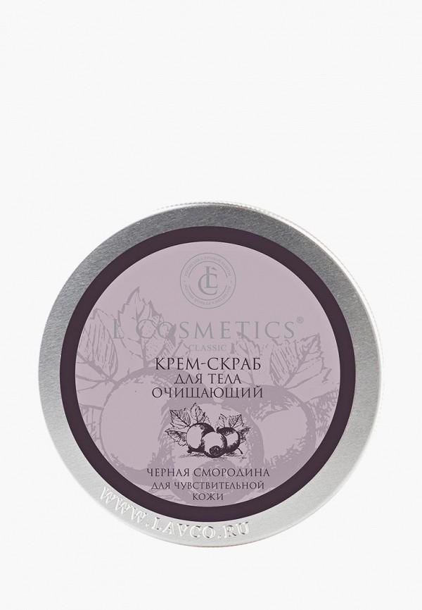 Купить Скраб для тела L'Cosmetics, очищающий Черная смородина , 200 мл, lc002lwbixt1, прозрачный, Весна-лето 2019