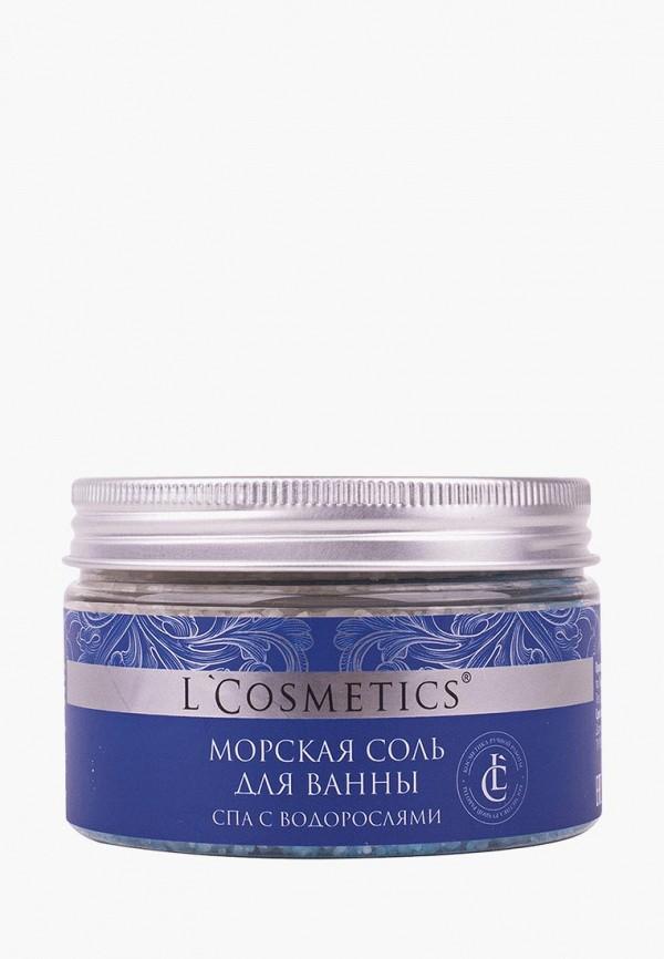 Соль для ванн LCosmetics мертвого моря с пеной СПА с морскими водорослями