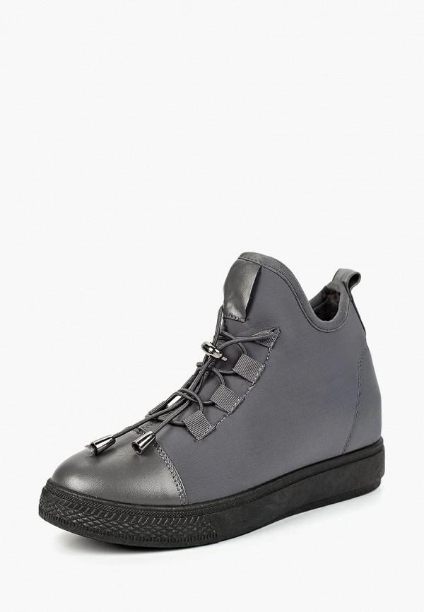 Купить Ботинки L.Day, LD001AWCSMK1, серый, Осень-зима 2018/2019