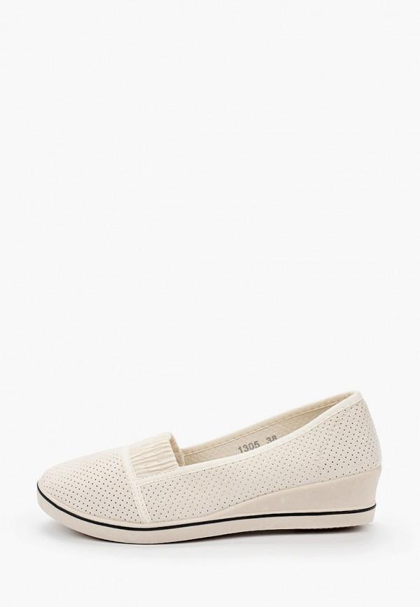 женские туфли super mode, бежевые