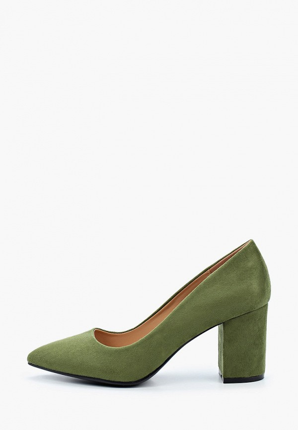женские туфли super mode, хаки