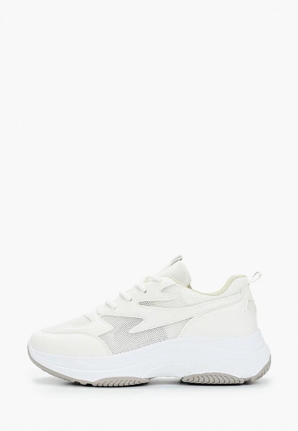 женские кроссовки l.day, белые