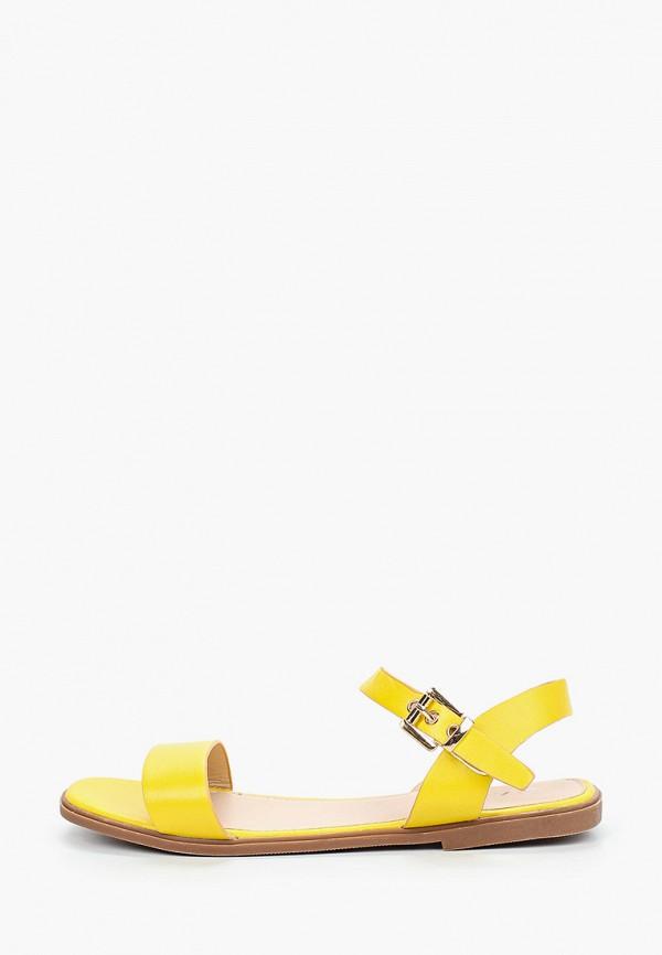 женские сандалии l.day, желтые