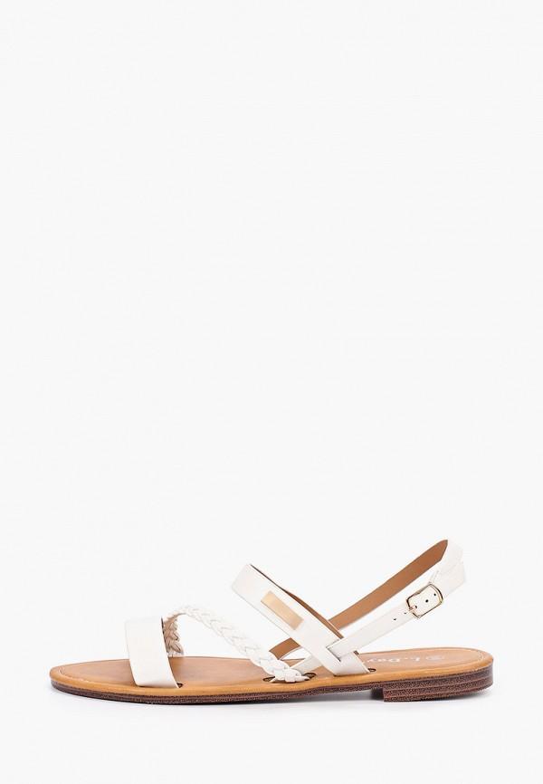женские сандалии l.day, белые