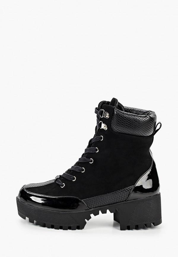 женские ботинки l.day, черные