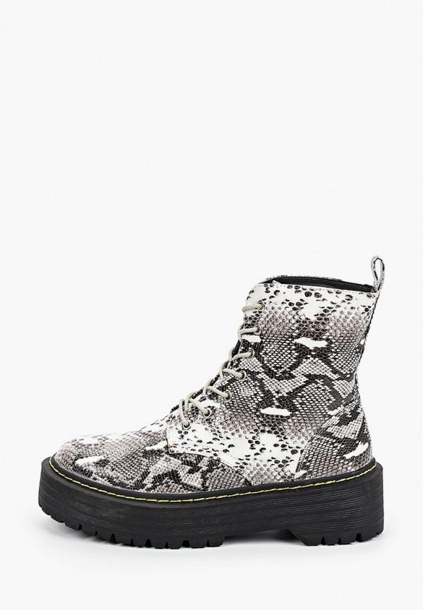 женские ботинки l.day, серые