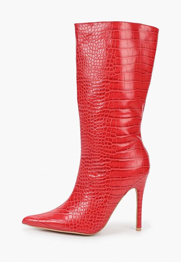 женские сапоги l.day, красные