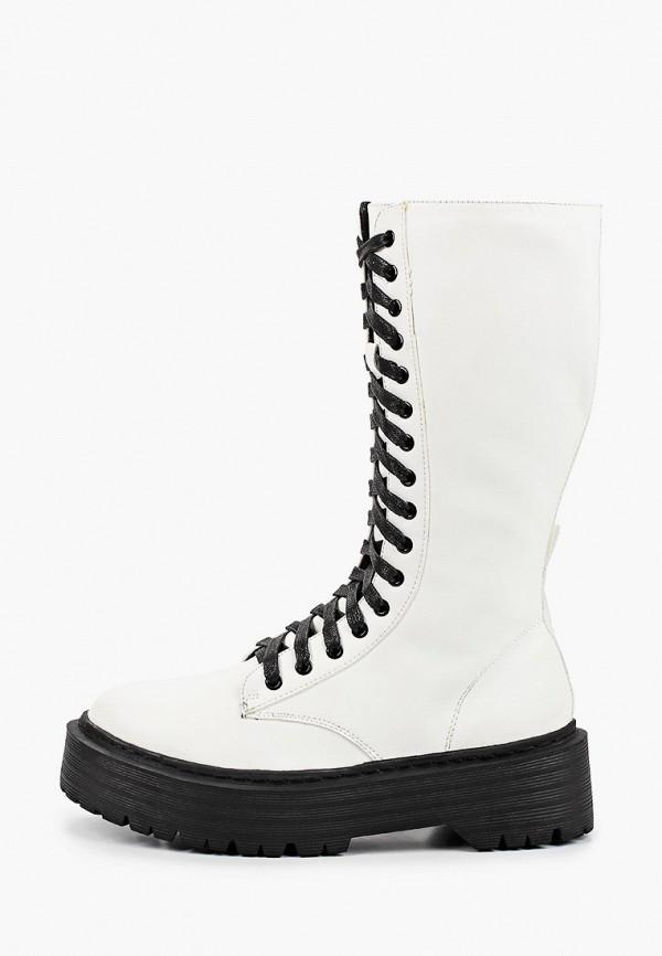 женские ботинки l.day, белые