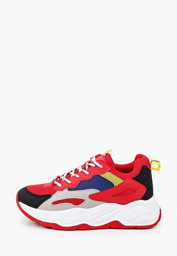 женские кроссовки l.day, красные