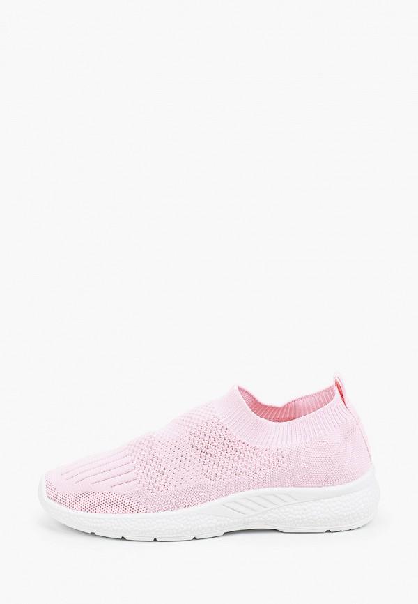 женские кроссовки l.day, розовые
