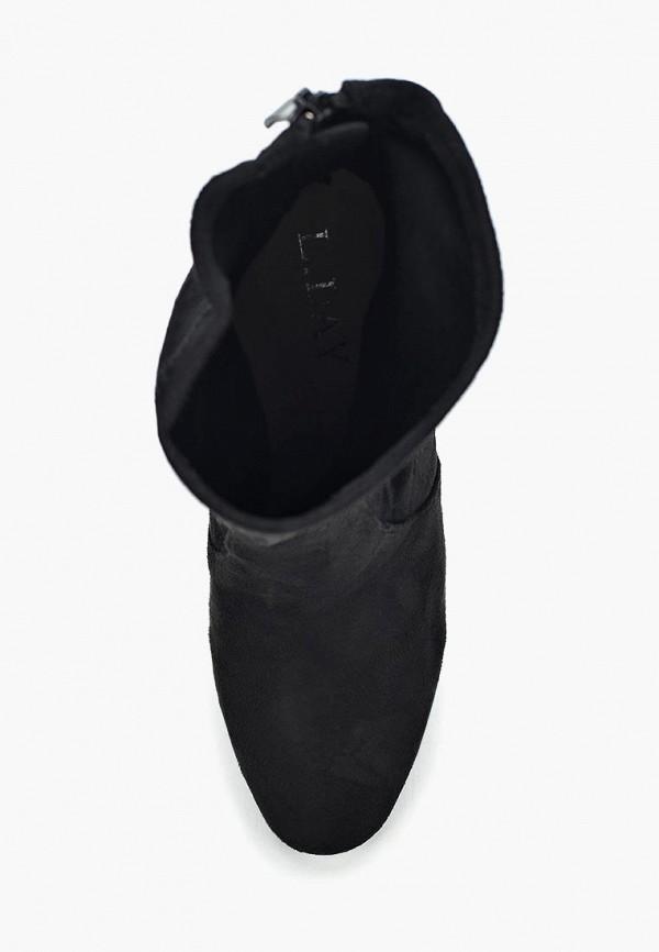 Фото 4 - женские полусапоги L.Day черного цвета