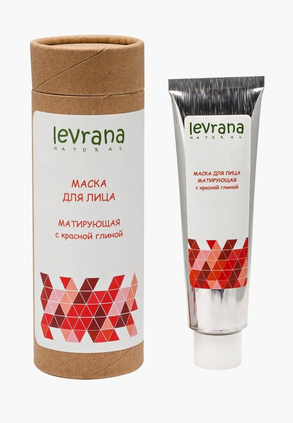 Купить Маска для лица Levrana, с красной глиной. Матирующая, 50 мл, le034lwbrse3, прозрачный, Осень-зима 2018/2019