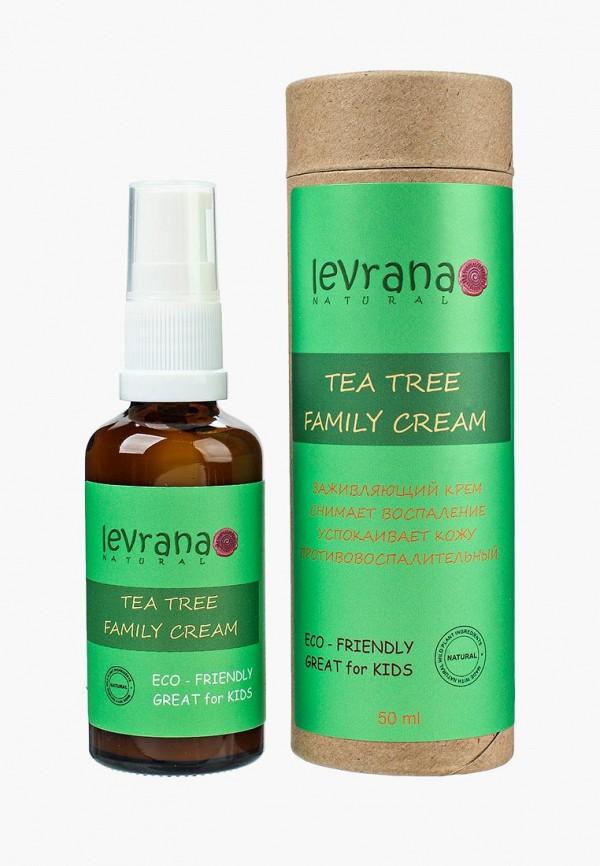 Купить Крем для тела Levrana, Чайное Дерево, заживляющий, от укусов комаров, 50 мл, le034lwowf17, зеленый, Осень-зима 2018/2019
