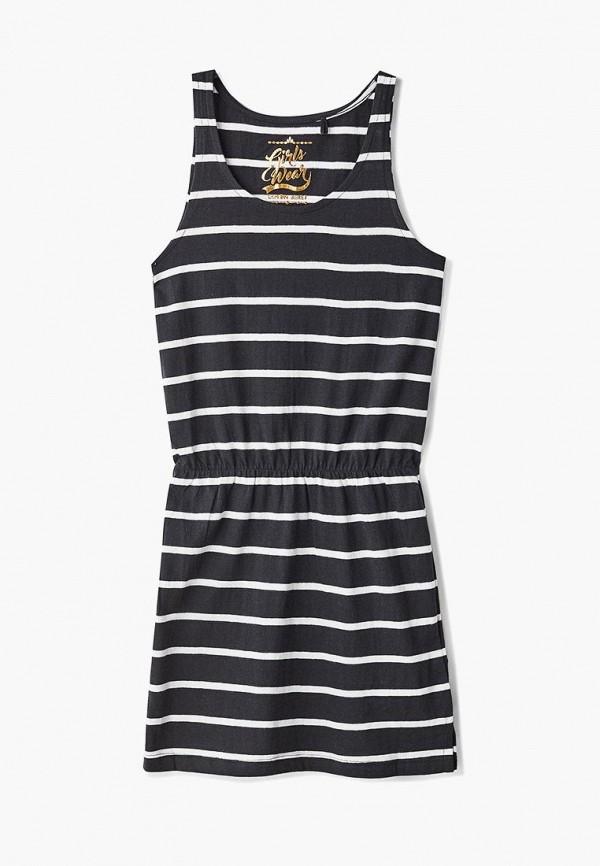 повседневные платье lemon beret для девочки, черное