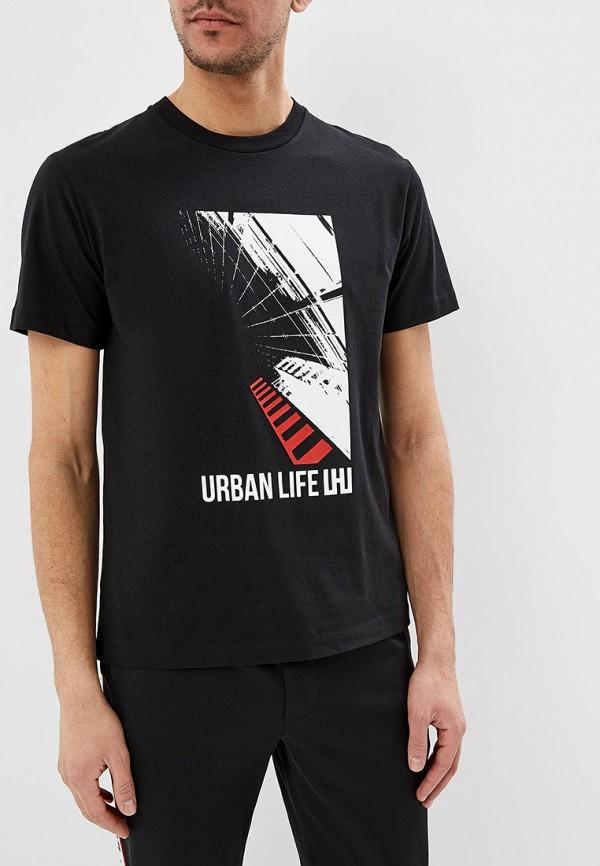 Футболка Les Hommes Urban Les Hommes Urban LE044EMEVXC9 шорты les hommes urban les hommes urban le044embdtm5