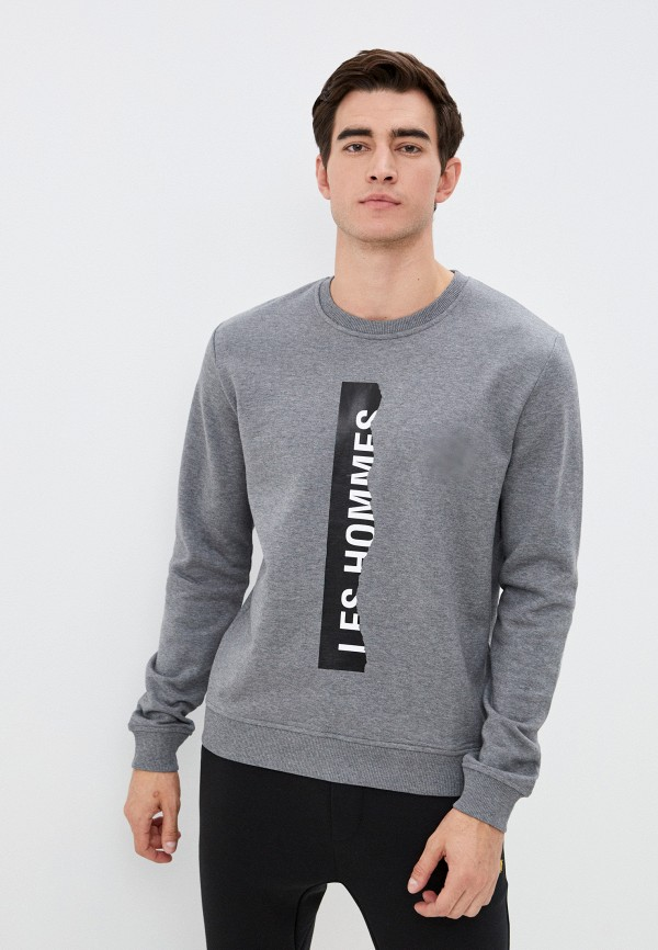 мужской свитшот les hommes urban, серый