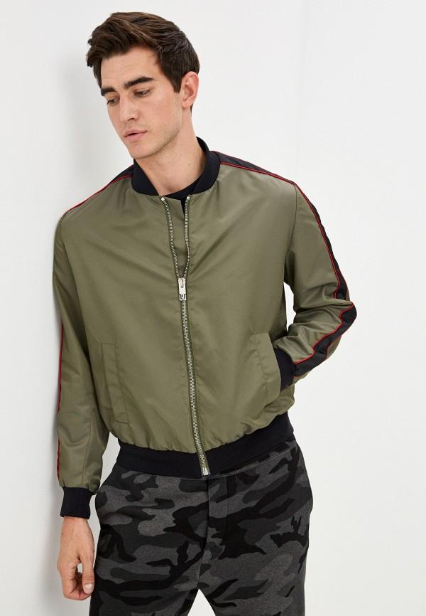 мужская куртка les hommes urban, хаки