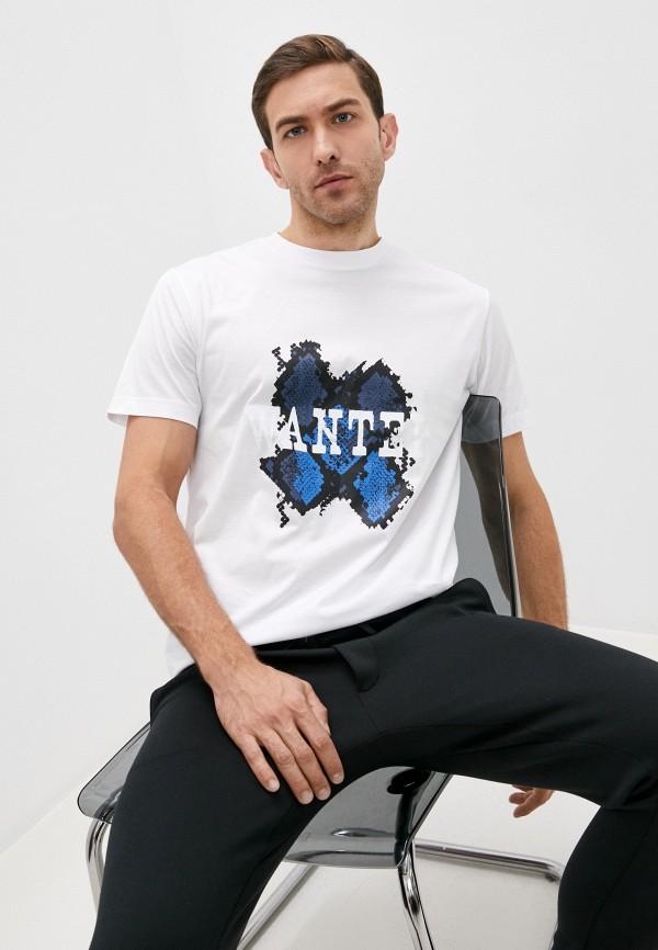 мужская футболка les hommes urban, белая