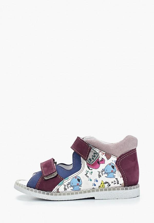 сандалии лель для мальчика, фиолетовые
