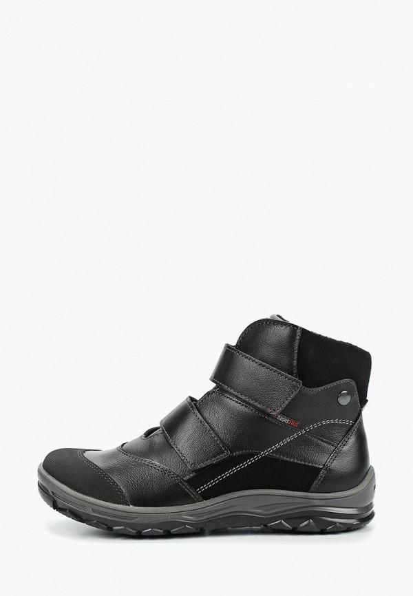 ботинки лель для мальчика, черные