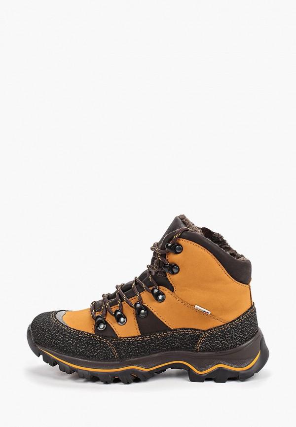 ботинки лель для мальчика, оранжевые