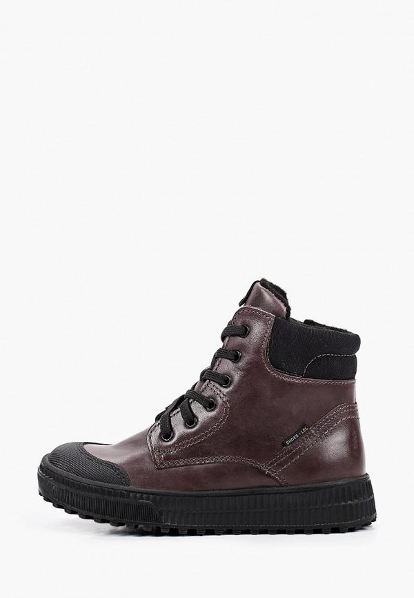 ботинки лель для мальчика, коричневые