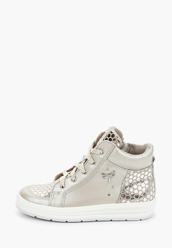 ботинки лель для девочки, бежевые