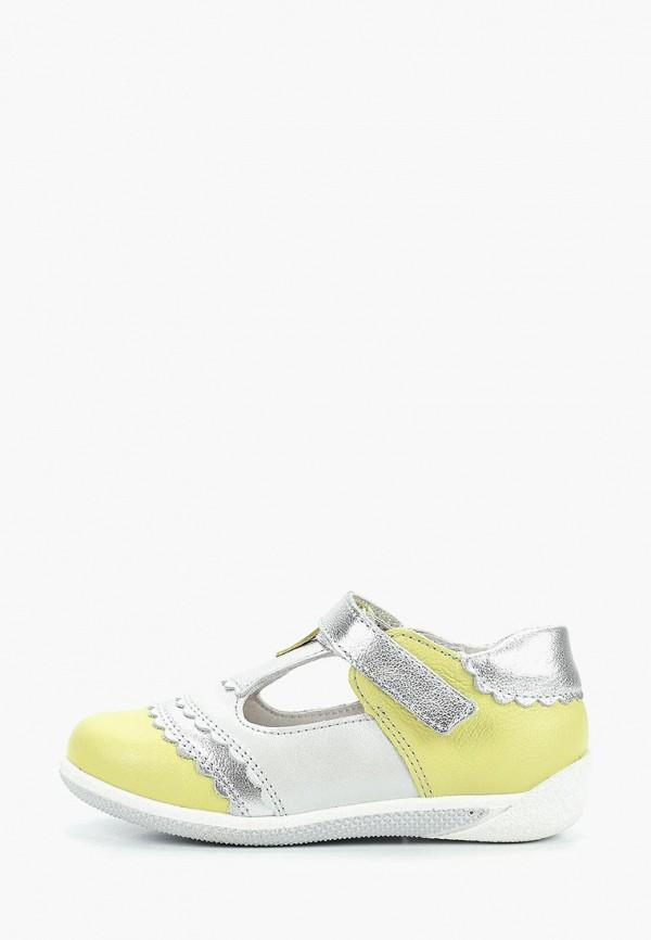 сандалии лель для девочки, желтые