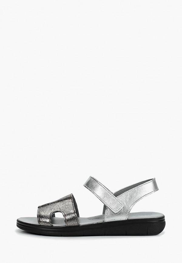 сандалии лель для девочки, серебряные