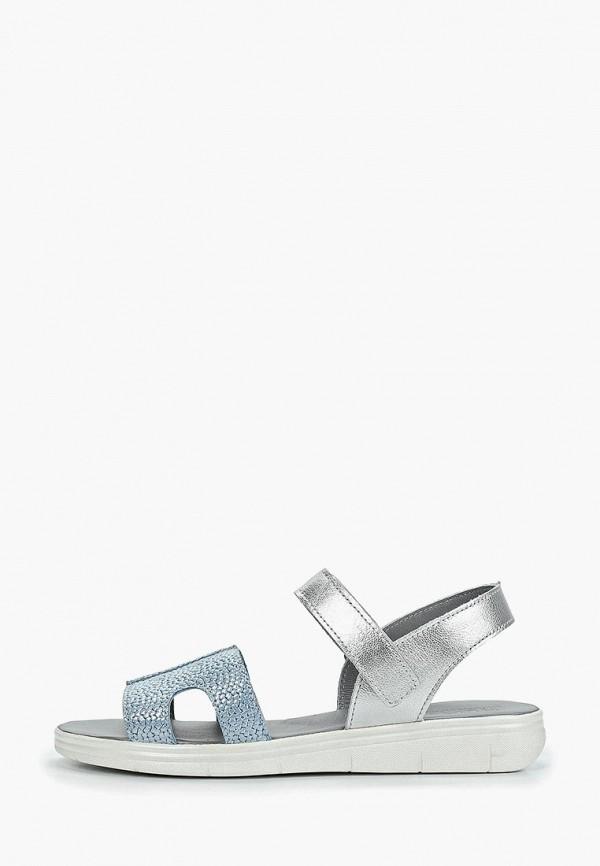 сандалии лель для девочки, голубые