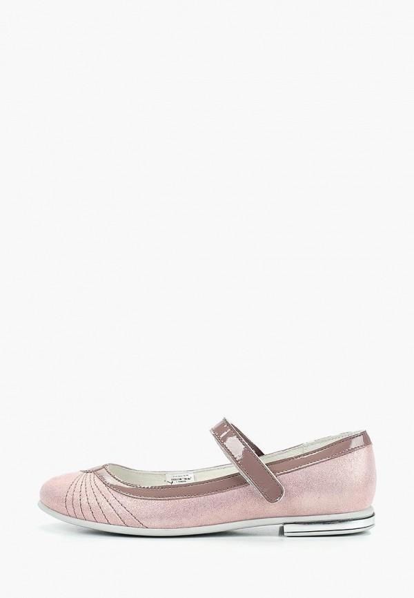 туфли лель для девочки, фиолетовые