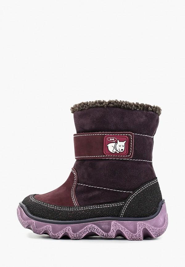 сапоги лель для девочки, фиолетовые