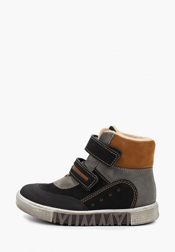ботинки лель для девочки, черные