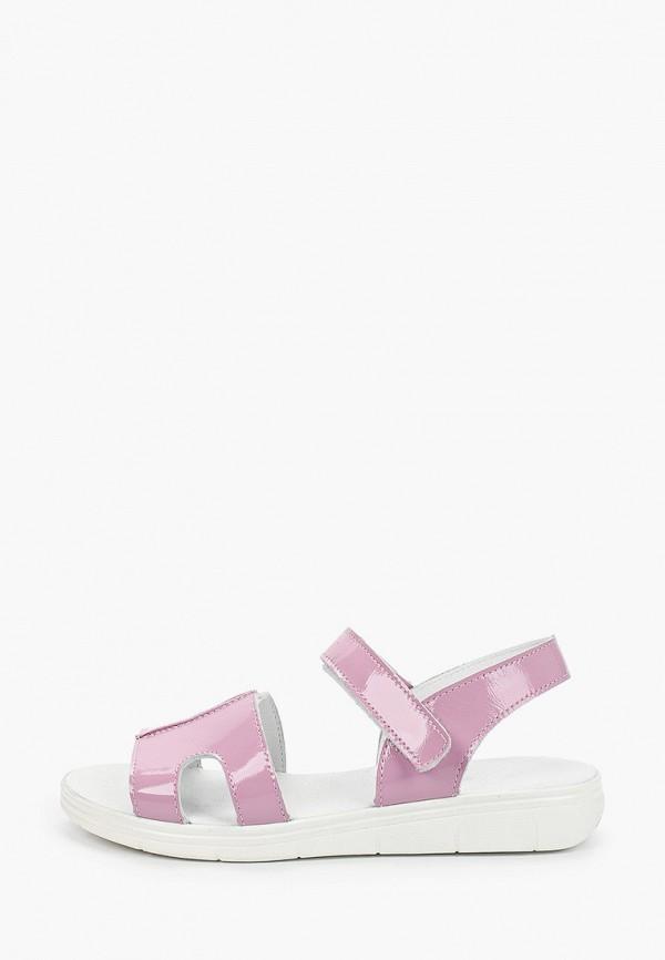 сандалии лель для девочки, фиолетовые