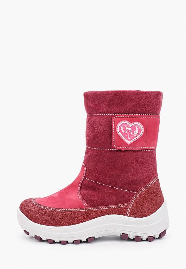 сапоги лель для девочки, розовые
