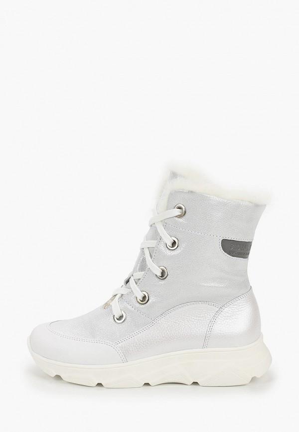 ботинки лель для девочки, белые