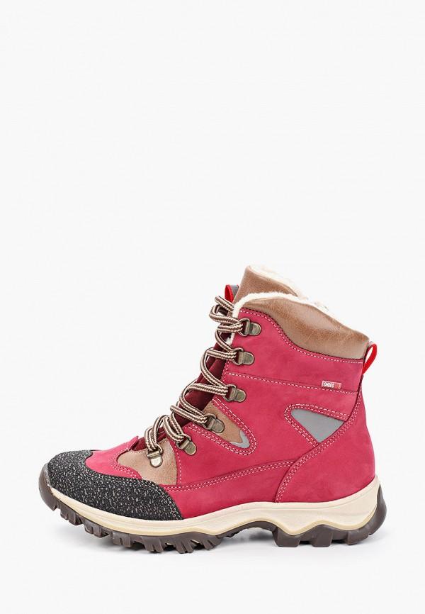ботинки лель для девочки, фиолетовые
