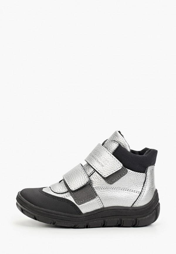 ботинки лель для девочки, серебряные