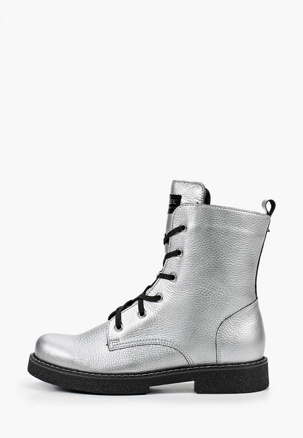 Ботинки Лель Лель м 4-1823 серебряный фото