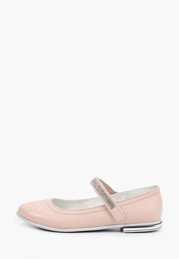 туфли лель для девочки, розовые