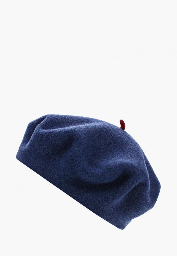 Берет Le Beret Francais Le Beret Francais LE048CUDCYK2 unique solid color button beret