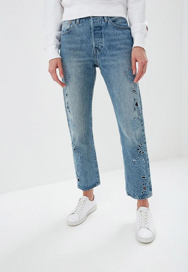 женские джинсы levi's® made & crafted™, голубые