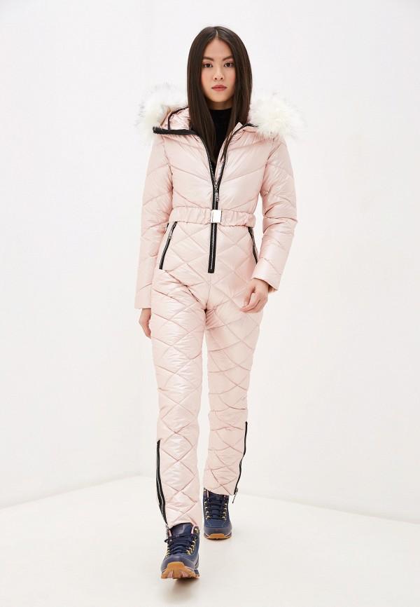 женские комбинезоны и костюмы lenavi, розовые