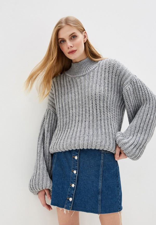 женский свитер lenavi, серый
