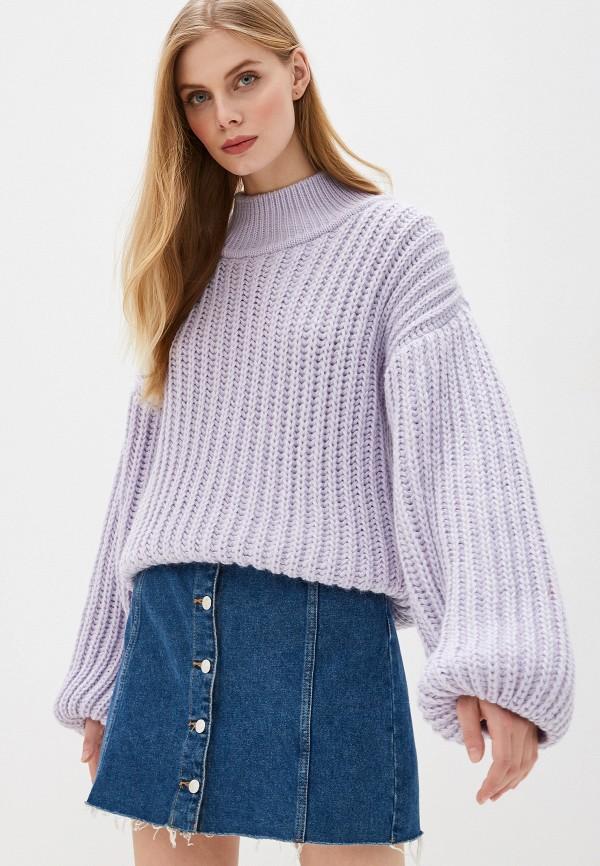 женский свитер lenavi, фиолетовый