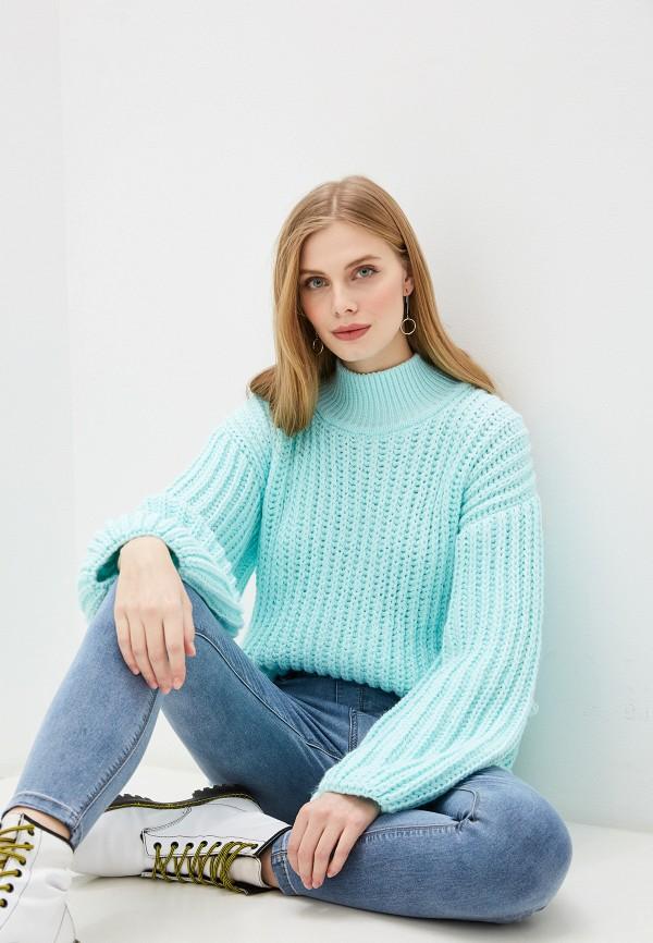 женский свитер lenavi, бирюзовый