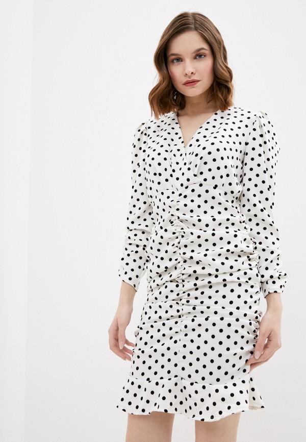 женское повседневные платье lenavi, белое